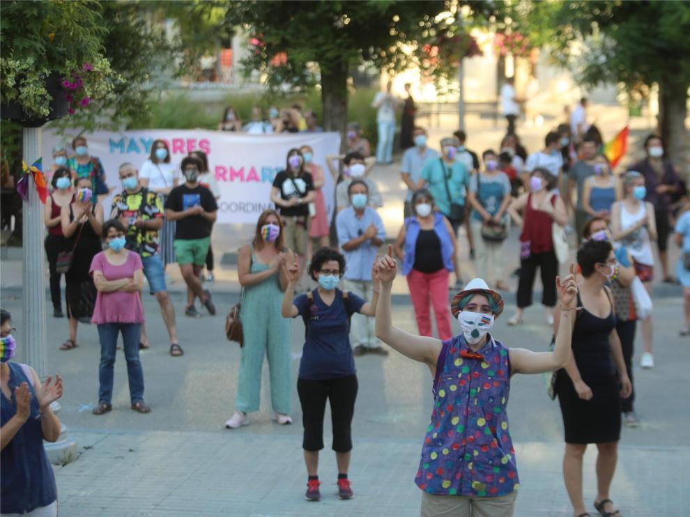 """Las mujeres LTB alzan su voz para denunciar la """"opresión de género"""""""