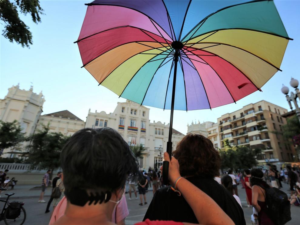 Huesca celebra el Día del Orgullo