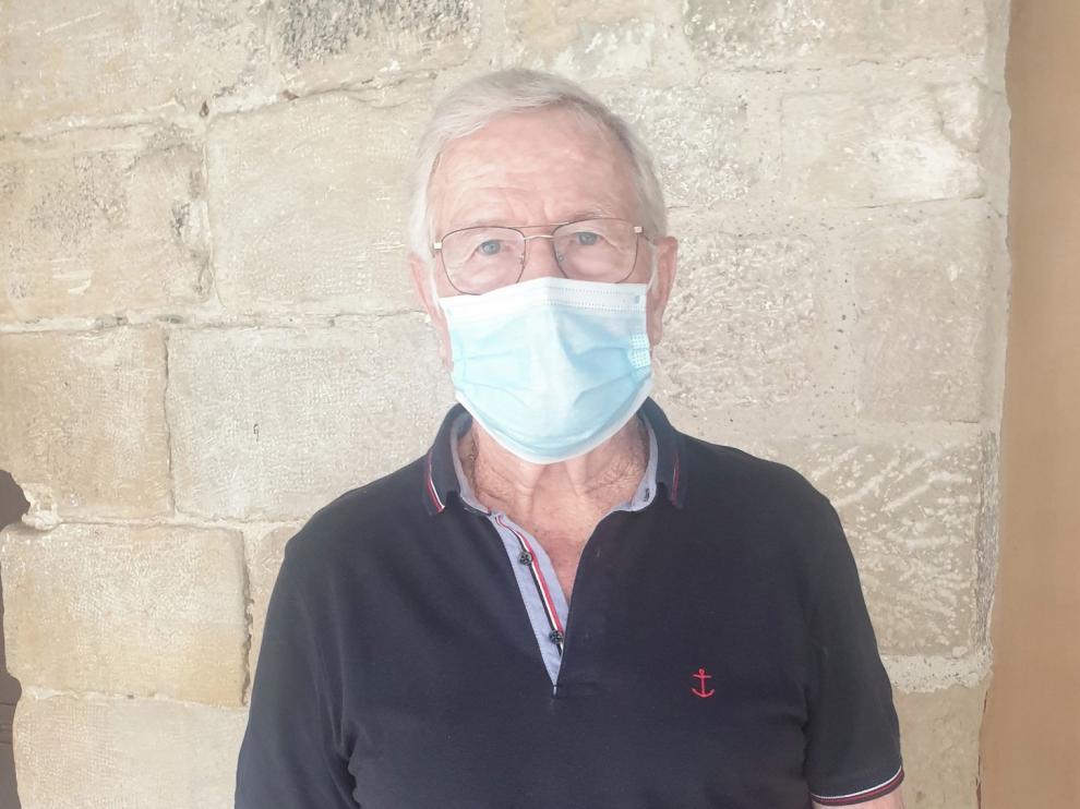"""José María Altemir: """"La residencia de Graus ha sido ejemplo de gente trabajadora"""""""