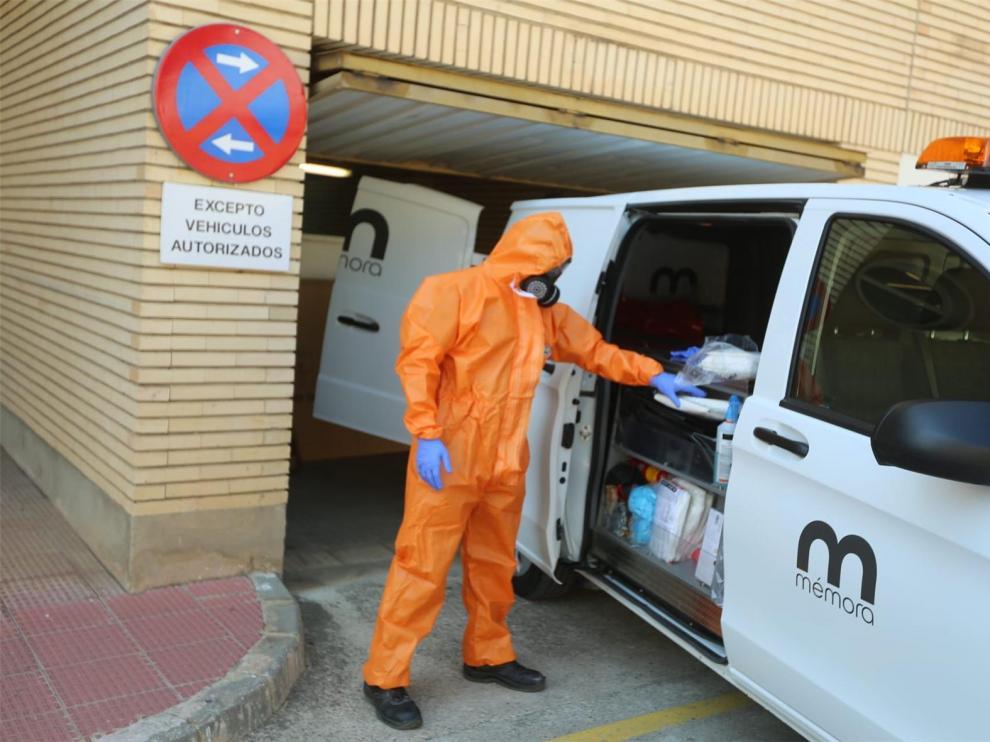 En cuarentena la residencia Felipe Coscolla de Huesca tras detectarse tres positivos por coronavirus