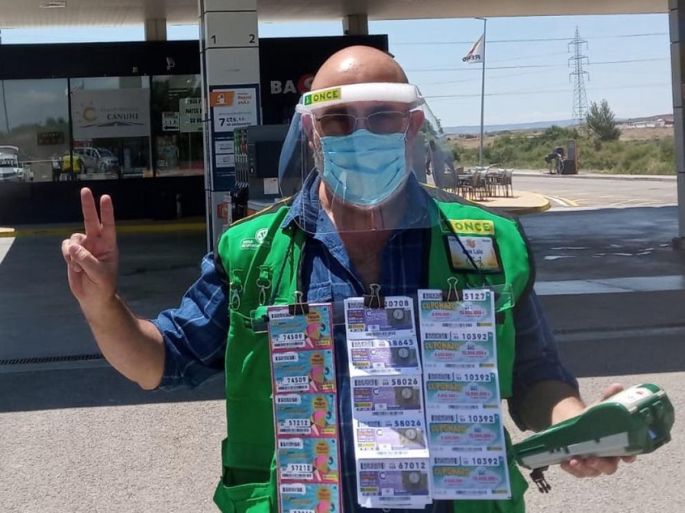 El Cuponazo de la ONCE deja en un premio de 25.000 euros en la provincia de Huesca