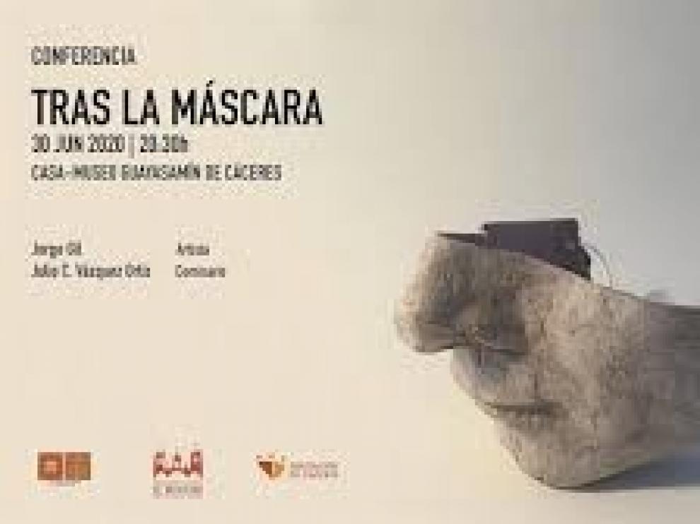 Una conferencia del artista jacetano Jorge Gil clausura este martes la exposición de su obra en el Museo Guayasamín de Cáceres