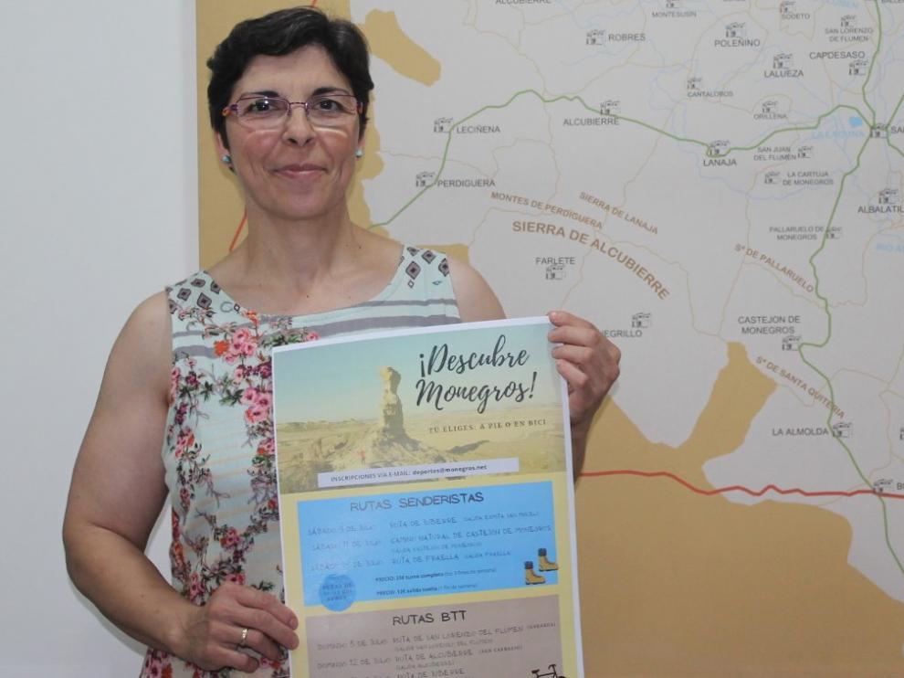 ¡Descubre Monegros! a pie o en bicicleta, nueva iniciativa de la Comarca