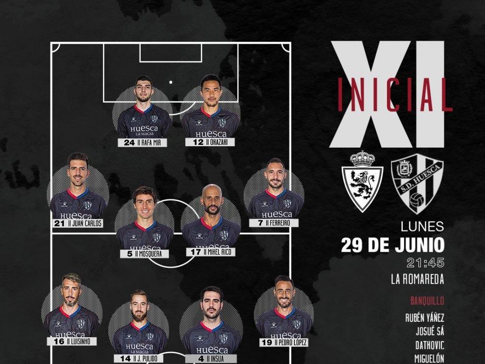 El Huesca le da un zarpazo al león del Zaragoza (0-1)