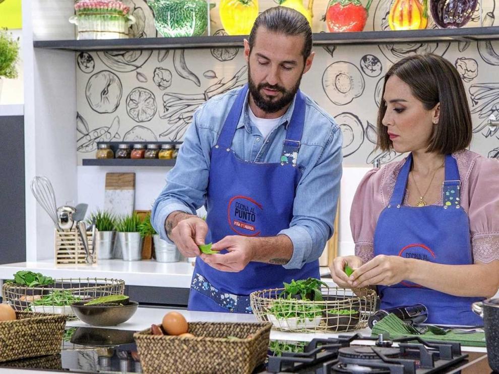 """La 1 estrena """"Cocina al punto con Peña y Tamara"""""""
