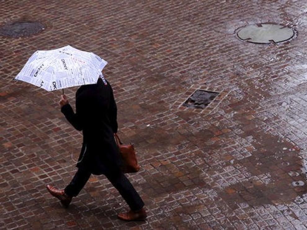 Activado el aviso amarillo por tormentas y lluvias en la provincia de Huesca
