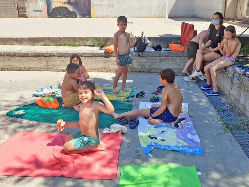 Los niños de Graus pasan un verano divertido en el Summer Fun