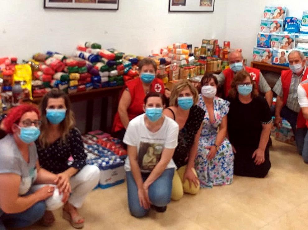 Cruz Roja Monegros responde frente a la pandemia de coronavirus