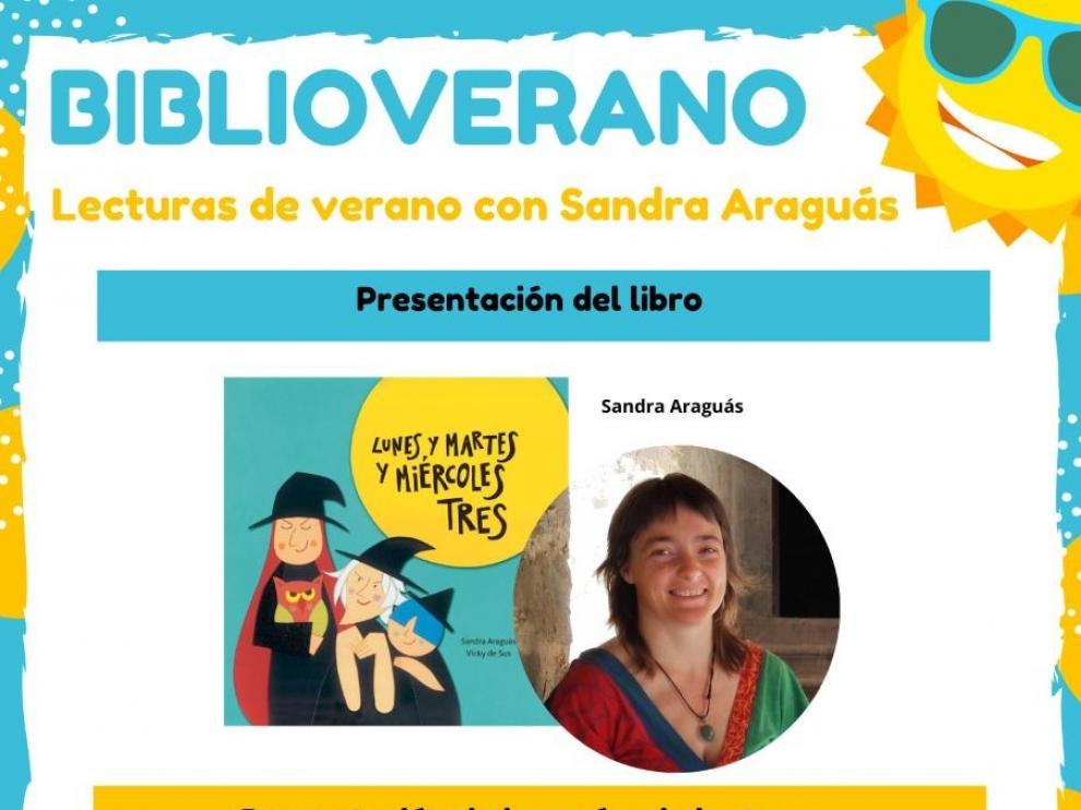 Lecturas de Verano comenzará el próximo martes con Sandra Araguás
