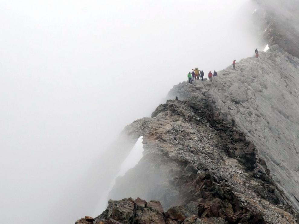 La cresta de los Infiernos, de Bachimaña a Sallent