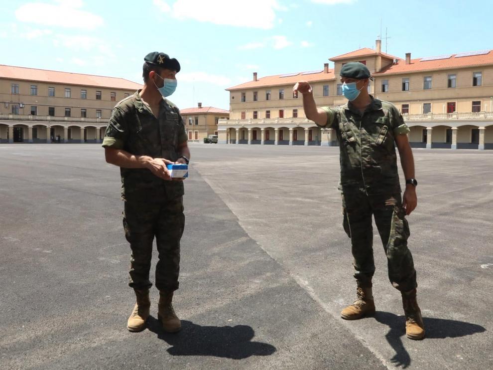 Huesca tendrá el único cuartel de División, que mandará a 18.000 militares