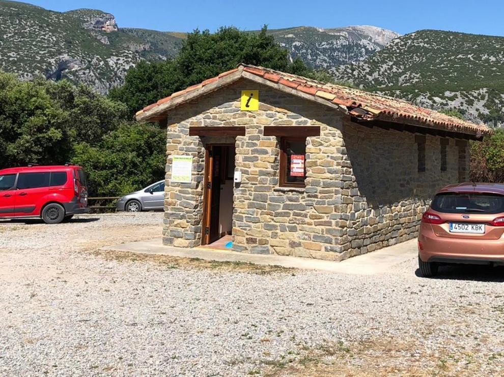 Abre en un nuevo emplazamiento la Oficina de Turismo de Bierge-Rodellar