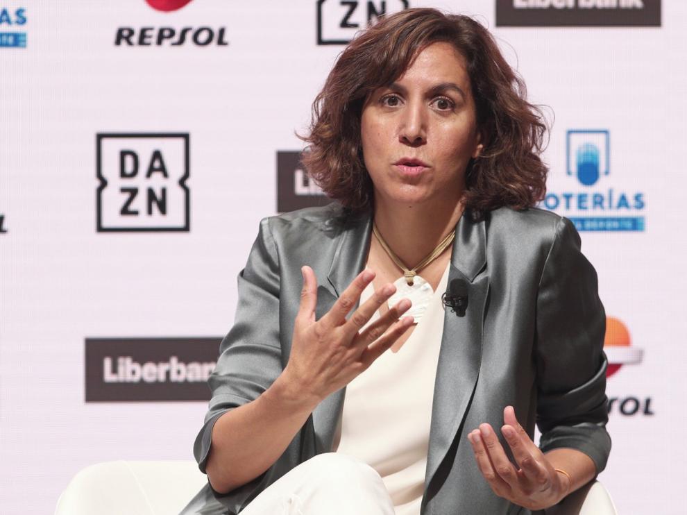 """Irene Lozano: """"Si no hay acuerdo entre FEB y ACB tendremos que intervenir"""""""
