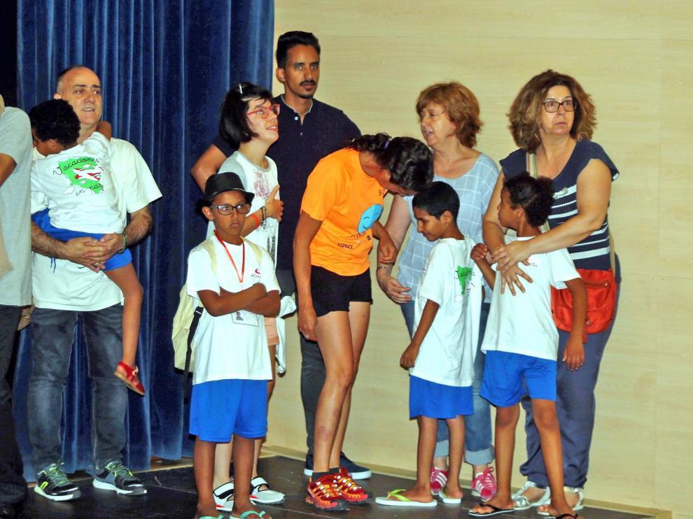 Campaña de Alouda en apoyo a niños saharauis con discapacidad