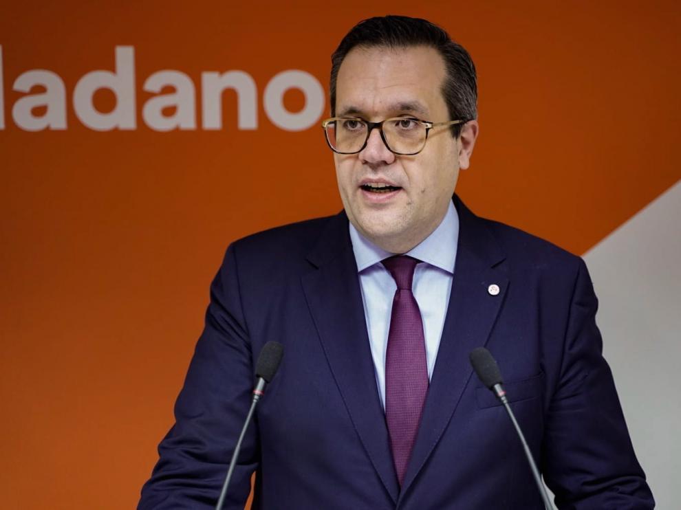Cs pregunta a la DGA por sus gestiones para recuperar el AVE Huesca-Madrid