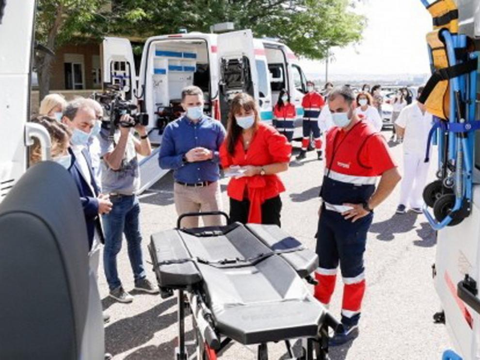 Aragón mejora su transporte sanitario programado