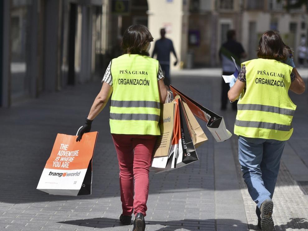 Programa de formación de voluntariado juvenil en Huesca