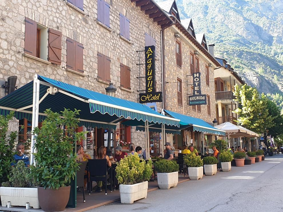 La ocupación turística se concentra los fines de semana en la provincia de Huesca