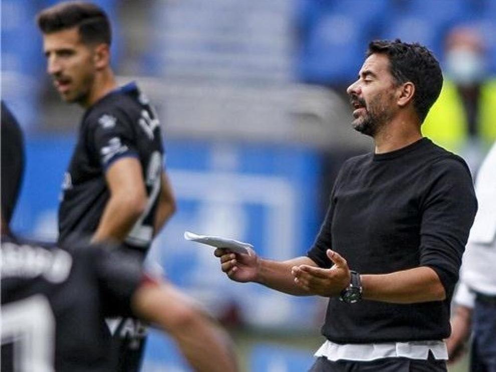 """Míchel: """"Nuestro gol nos ha hecho daño"""""""