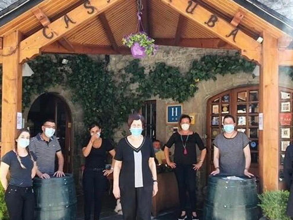 """Casa Ruba de Biescas: """"Queremos volver a veros"""""""