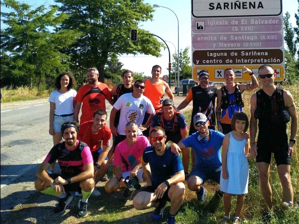 El #retoloren, cien kilómetros de motivación entre amigos