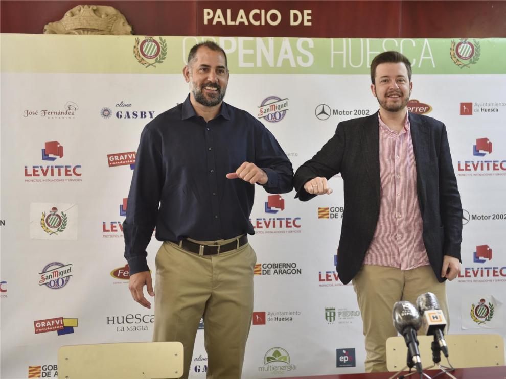 Jorge Lachén, un paso adelante en la profesionalización del Peñas