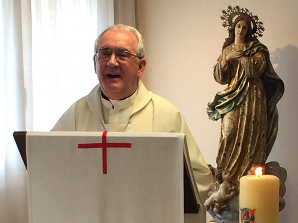 Misa por los difuntos en Barbastro el día 26