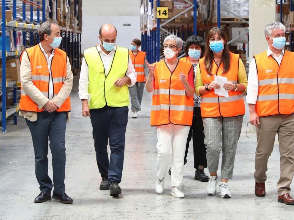 Aragón asegura tener material sanitario para cuatro meses