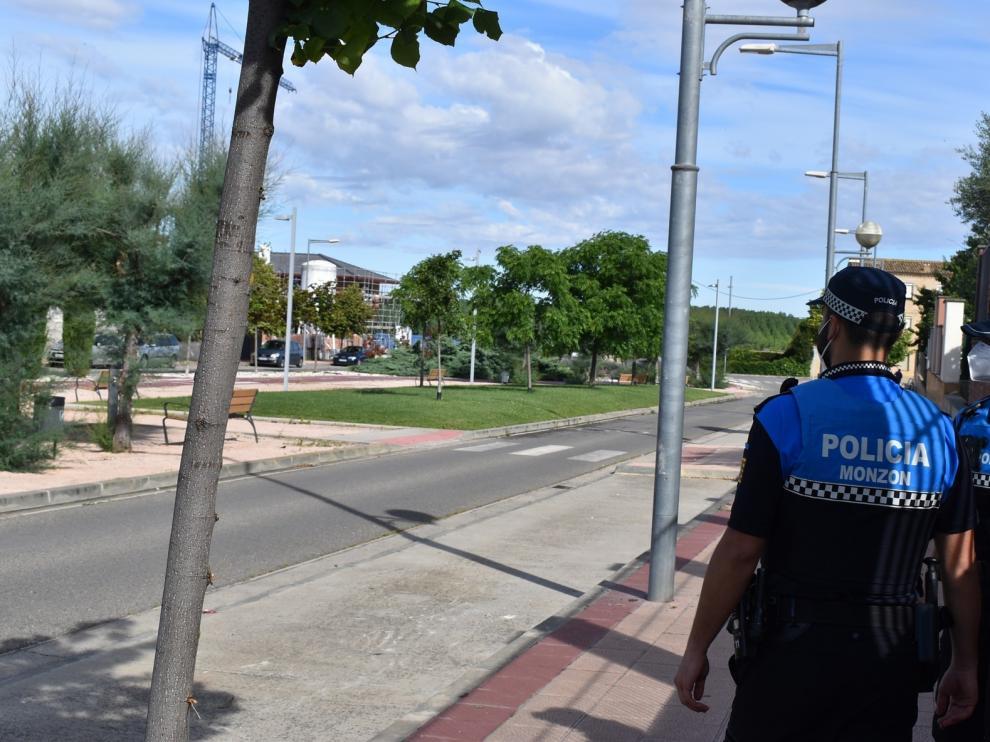 Campaña de control de la velocidad en Monzón
