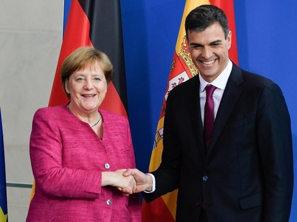 Sánchez se reunirá con Merkel la próxima semana