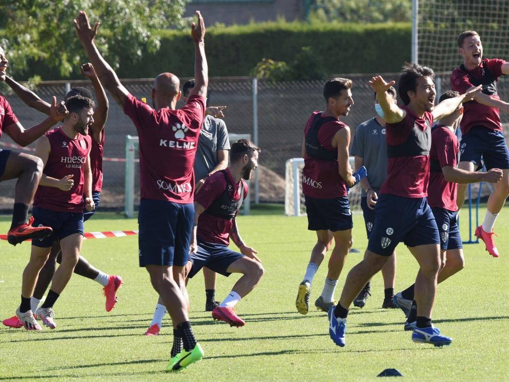 El Huesca, a por otro paso hacia el ascenso directo