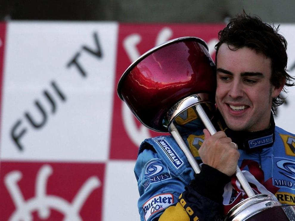 Fernando Alonso vuelve a la Fórmula Uno con Renault