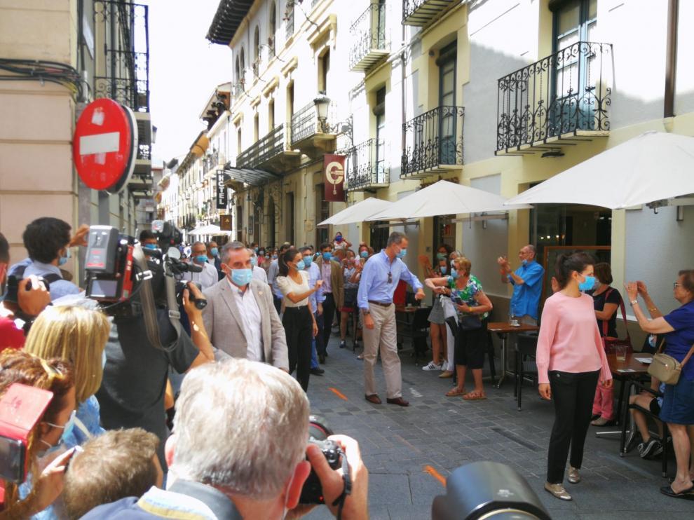 VÍDEO Y GALERÍA DE IMÁGENES de la visita de los Reyes de España a San Juan de la Peña y Jaca