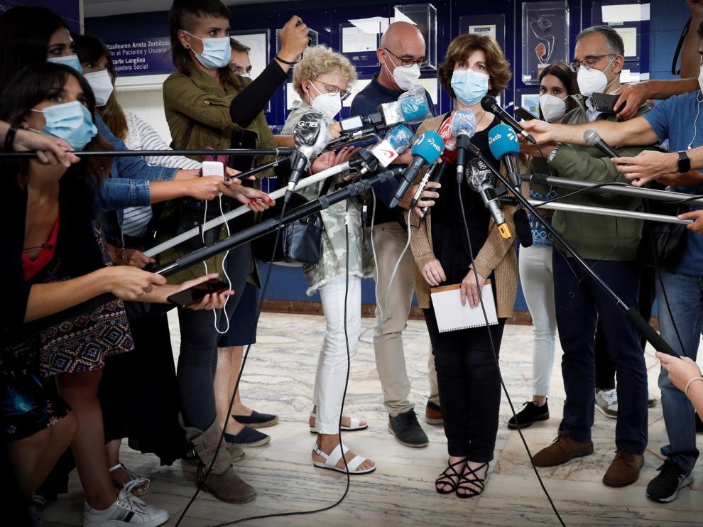 El Gobierno Vasco impone uso obligatorio de la mascarilla en zonas exteriores de Ordizia, donde ya hay 48 positivos