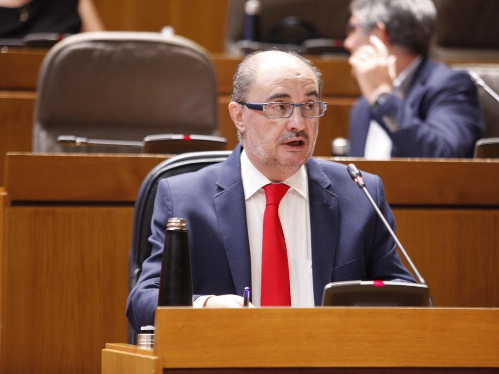 Lambán pide unidad para que la estrategia de recuperación se refleje en los presupuestos del Estado