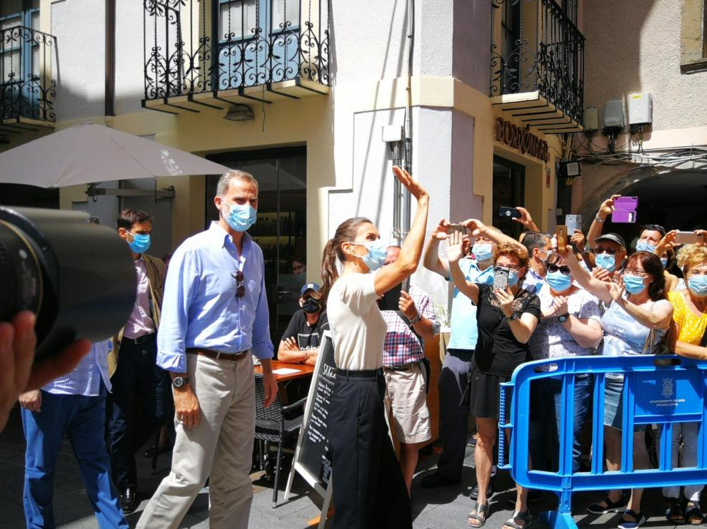 Felipe VI destaca la fortaleza del sector turístico aragonés