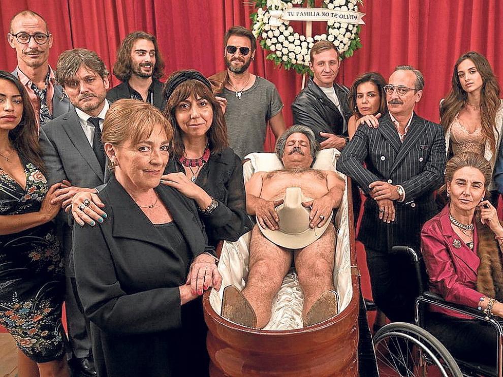 """Carmen Maura inicia el rodaje de la serie de Antena 3 """"Deudas"""""""