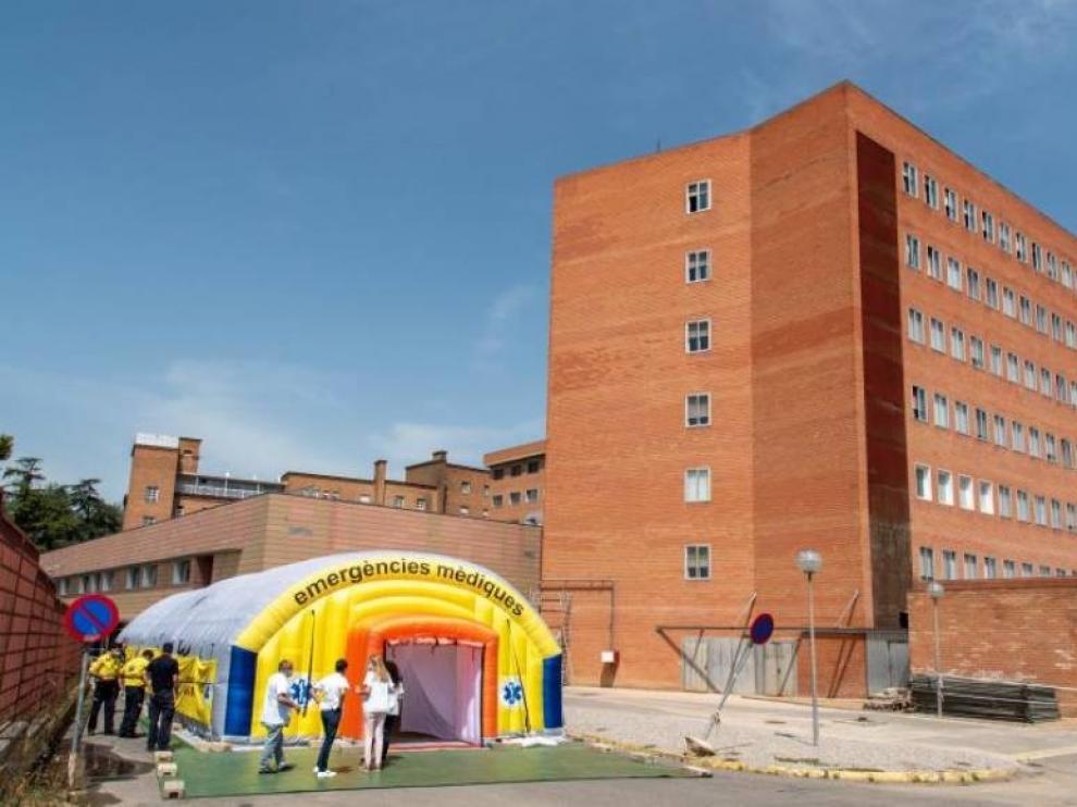El hospital de Lérida abre una tercera planta de coronavirus ante el aumento de casos