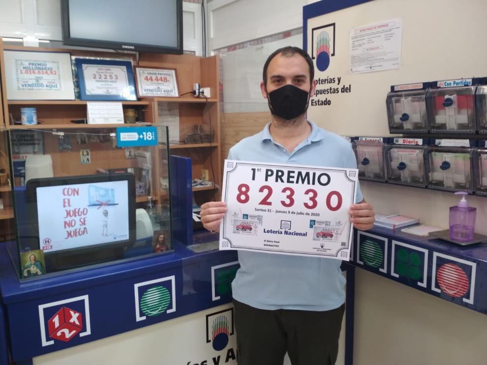 La Lotería Nacional deja en Barbastro 30.000 euros del primer Premio