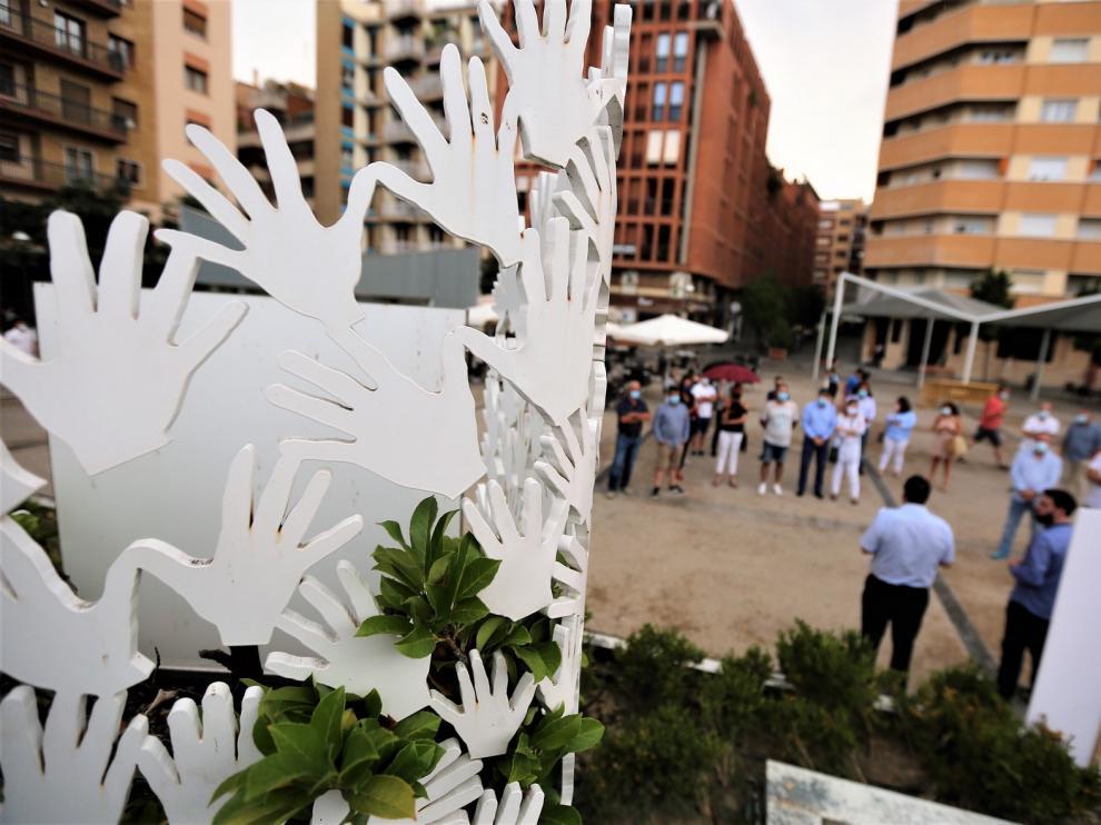 Homenaje en Huesca a Miguel Ángel Blanco, un canto a la convivencia y la paz