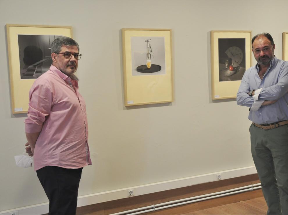 Jaime de Pardo expone sus fotos artísticas en Jaca