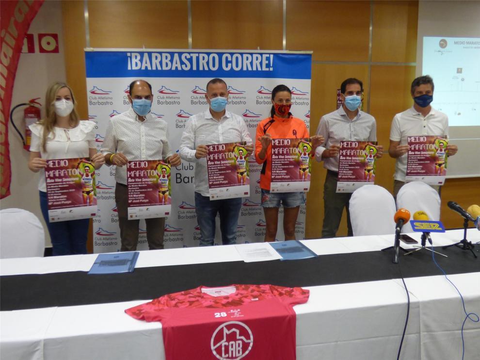 El Medio Maratón de Barbastro llegará el 20 de septiembre cargado de novedades