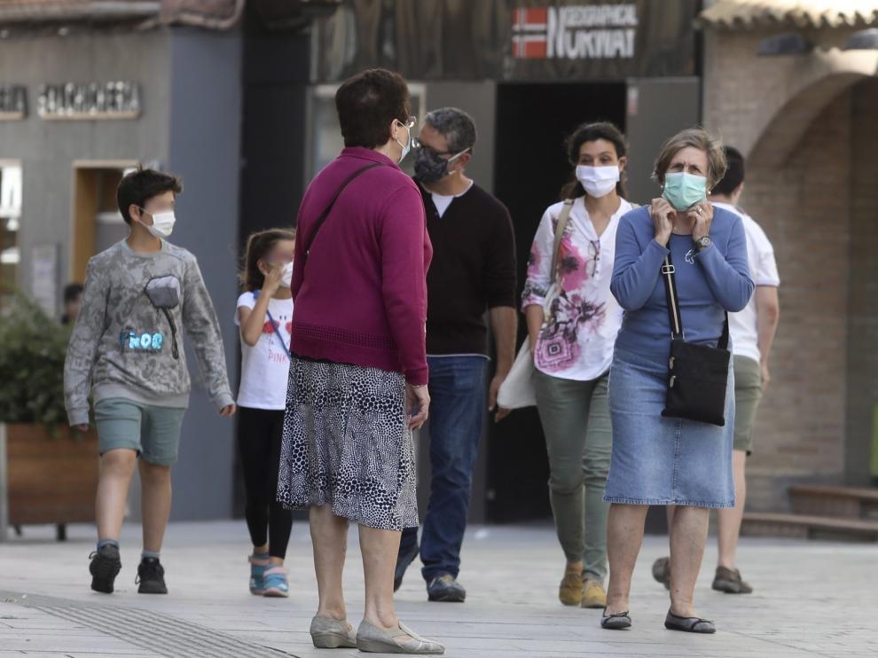 El 85 % de la población española usa la mascarilla de forma habitual