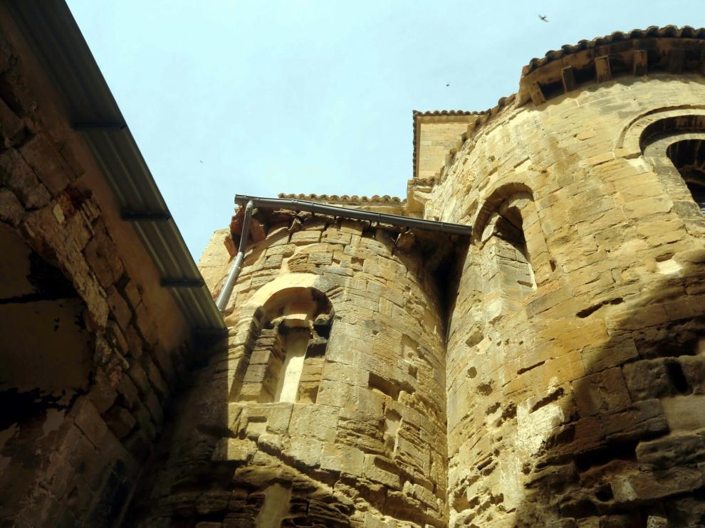 Piedra Casbi realizará la recuperación de la zona de los ábsides de San Pedro el Viejo de Huesca