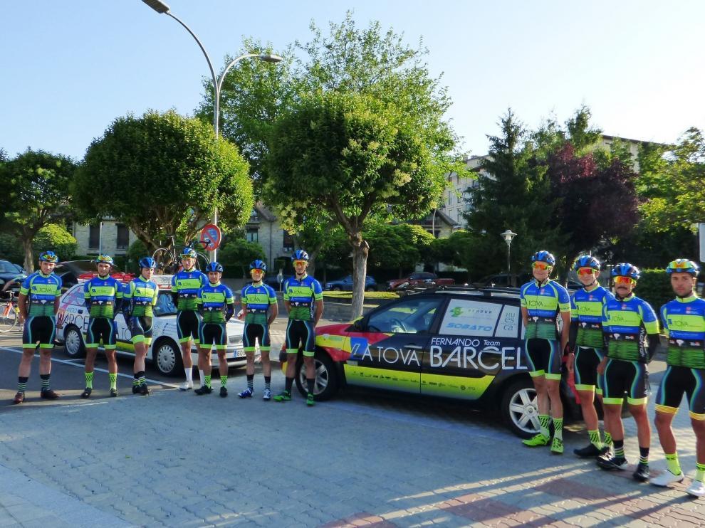La Tova realiza su primer entrenamiento en Sabiñánigo