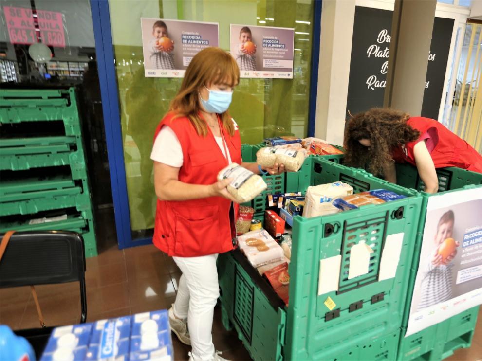 Huesca suma 5.132 kilos de alimentos a una campaña solidaria