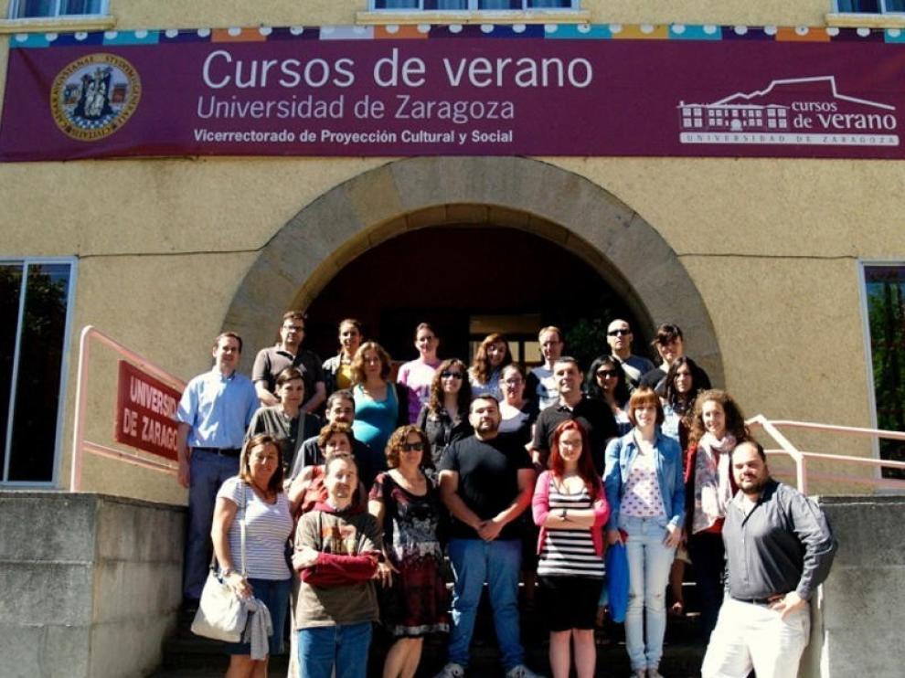 Los cursos de verano de la UZ de esta semana cuelgan el cartel de completo