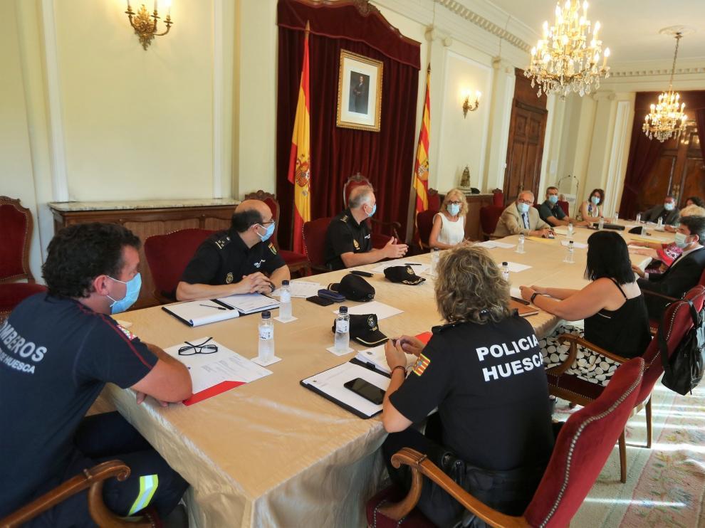 Huesca cerrará espacios públicos para evitar concentraciones durante las fechas de San Lorenzo