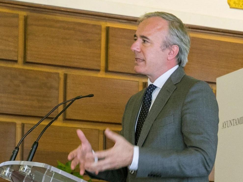 El alcalde de Zaragoza pide al Gobierno de España que acelere la implantación de la aplicación móvil para controlar brotes