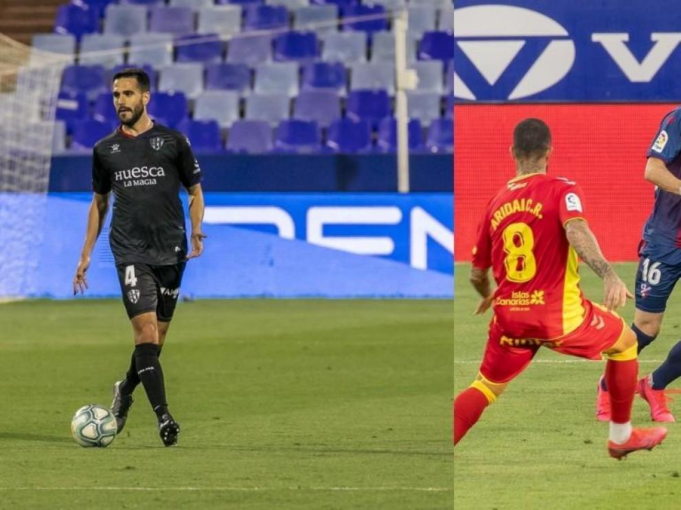Insua y Luisinho dicen adiós a la temporada en el Huesca por lesión